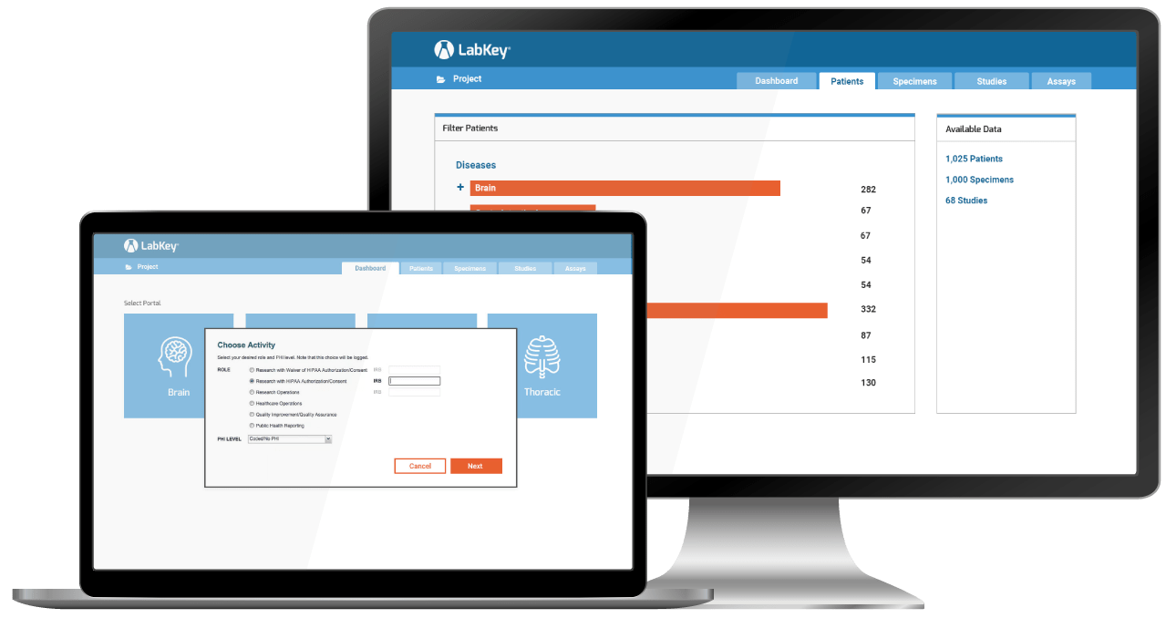LabKey Server Population Health Research Software
