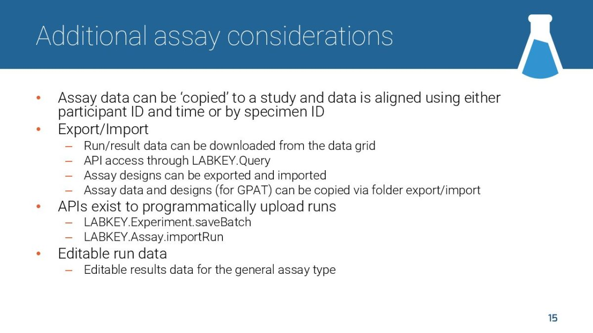 LabKey Data Models-LKEUC-04172018 15