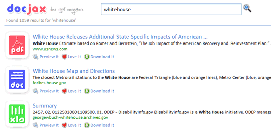 Document Search Engine with Inline Viewer