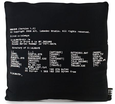 dos command pillow