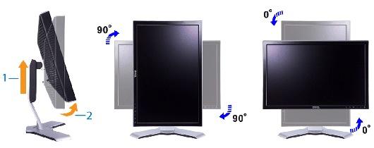 rotation of monitor