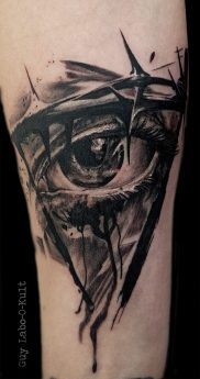 Eye see you - Done at Amnéville Tattoo Show 2016