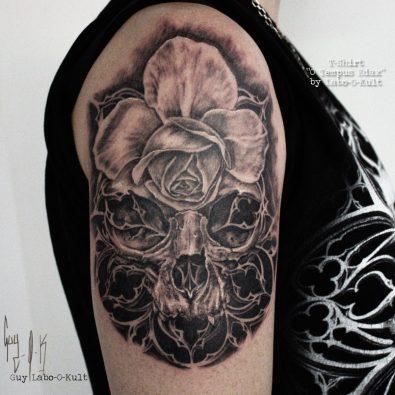Wanna Do - Rose-O-Gothic Skull 2016