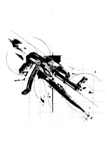 """AK47"" - Creation of Labo Pogo Tattoo Motif"