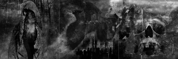 "Album Art for the Swiss blackmetal band ""Borgne"" by Ka - not yet released"