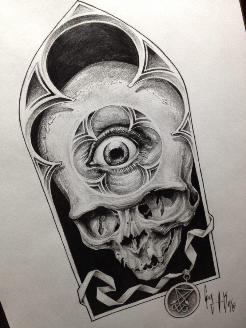 """Pencil Drawing """"Eye See you"""" Guy Labo-O-Kult"""