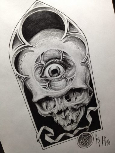 "Pencil Drawing ""Eye See you"" Guy Labo-O-Kult"