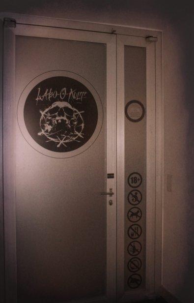 Front Door to Labo-O-Kult