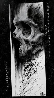 "Acrylpainting ""Kairos"" by Guy Labo-O-Kult"