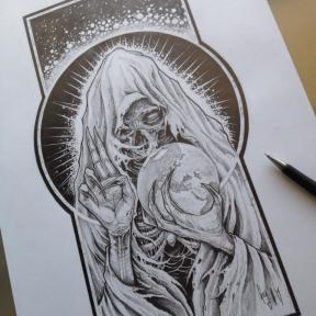 "Pencil Drawing ""Master Dixit"""