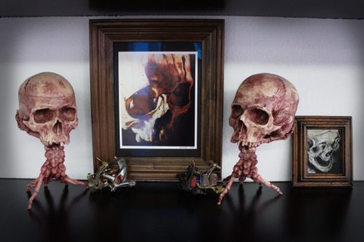 More skulls and decoration
