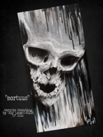 """""""Mortuus"""" - Acrylpainting by Guy Labo-O-Kult"""