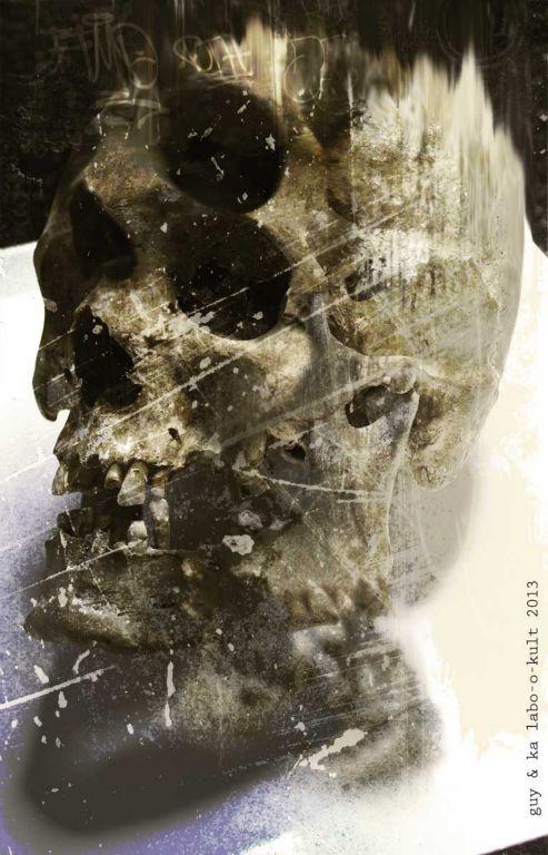"""Skullery"" – GraphiKArt by Ka L-O-K"