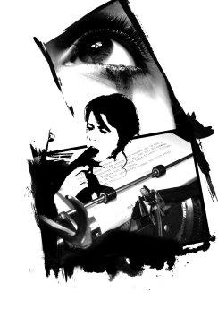 "Graphical Illustration ""Suicidal Rumor"" by Ka L-O-K"