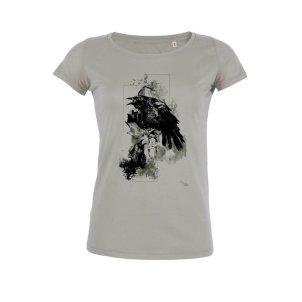 "T-ShirtsHelvEdition ""Corvus Corvus"" by Ka L-O-K, printed by nopas.ch, Bienne"