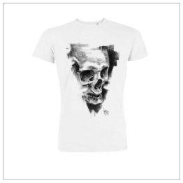 T-Shirt #810 Pulvis Es collaboration work Guy Labo-O-Kult with nopas.ch