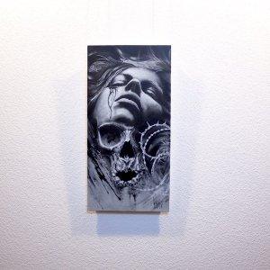"""Cruciatus""  - Original Artwork by Guy Labo-O-Kult"