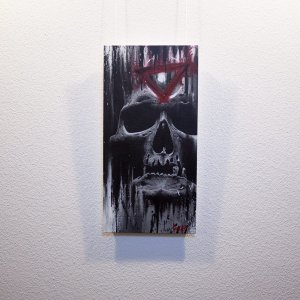 "Original Artwork ""Ocul(t)us"" by Guy Labo-O-Kult (Acrylic Painting on canvas board)"