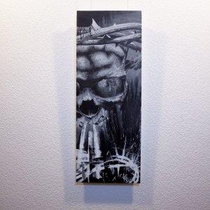 """Resurgere"" - Oeuvre original de Guy Labo-O-Kult, peinture acrylique"