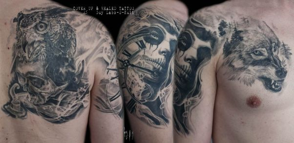 Tattoo done by Guy Labo-O-Kult
