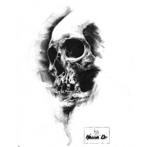 Wanna Do Charbon Skull#21 Guy Labo-O-Kult