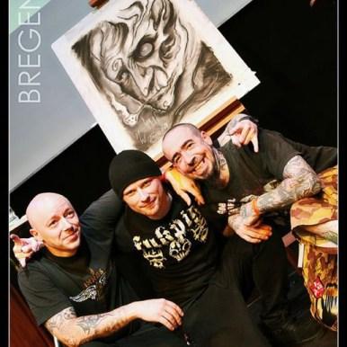 Guy Labo-O-Kult, Mark Weatherhead & Tony Kreutz @ Art Fusion in Bregenz 2011