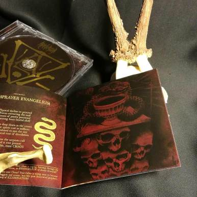 """CD Booklet - Swiss Black Metal Band used for the CD Booklet of """"Deathprayer Evangelium"""" of Swiss Blackmetal Band """"Arkhaeon"""""""