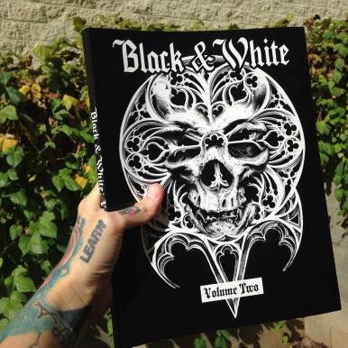"""Pencil Drawing """"O Tempus Edax"""" Guy Labo-O-Kult, used for OOS Book """"Black & White"""" Volume 2, edited in US"""