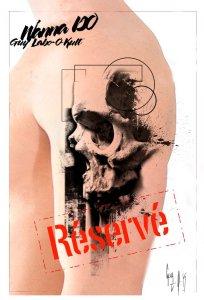 """RESERVED Wanna DO """"Le crâne à la côte"""" - Guy Labo-O-Kult"""