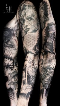 "Full sleeve ""Gaïa & the cosmos"""