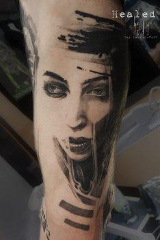 Healed Tattoo - Tatouage Cicatrisé - Abgeheiltes Tattoo