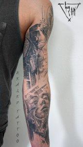 Healed Tattoos by Guy Labo-O-Kult | Tatouages cicatrisés fait par Guy Labo-O-Kult