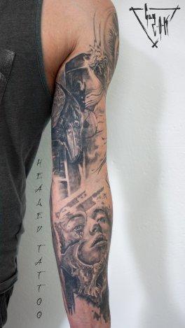 Healed Tattoos by Guy Labo-O-Kult | Abgeheiltes Tattoo | Guy Labo-O-Kult