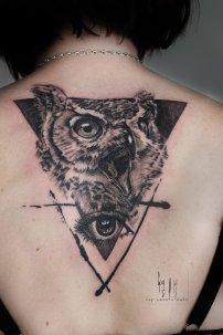 """Wanna Do """"Eye Owl"""", Guy Labo-O-Kult"""