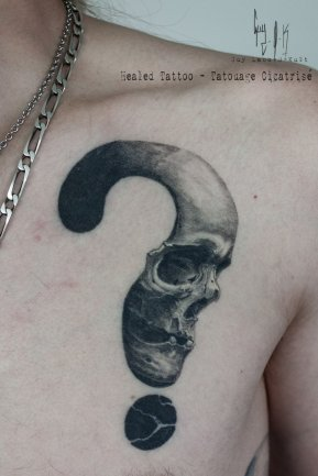 HEALED - Why Skull - Guy Labo-O-Kult