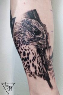 Falke Tattoo von Guy_Labo-O-Kult