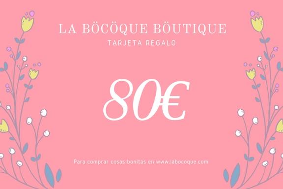 Tarjeta Regalo La Böcöque