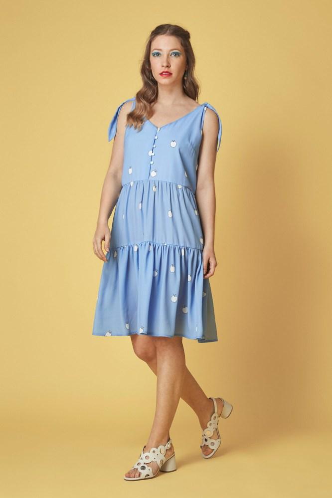 vestido-corto-color-azul