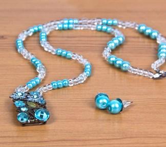 duo-bijoux-floral-turquoise-boucles-doreilles-et-collier-de-la-boite-ateliers-creatifs