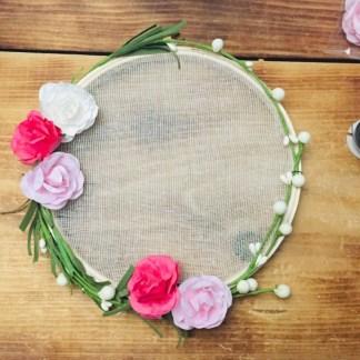capteur-de-reves-Boho-coton-floral-rose-blanc-la-boite-ateliers-creatifs