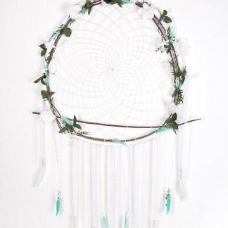 capteur-de-rêves-floral-géant-turquoise-et-dentelle-blanche-7702