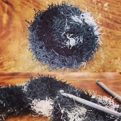 disque à récurer réutilisable en polyester