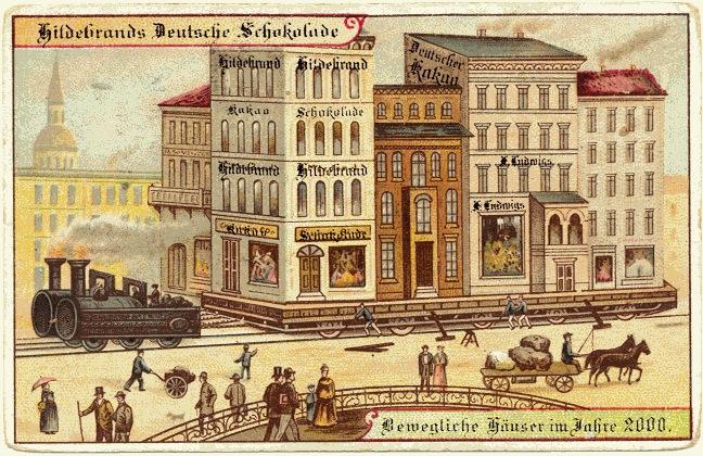 carte postale 2000 futur 03 En 1900, des cartes postales imaginent lan 2000