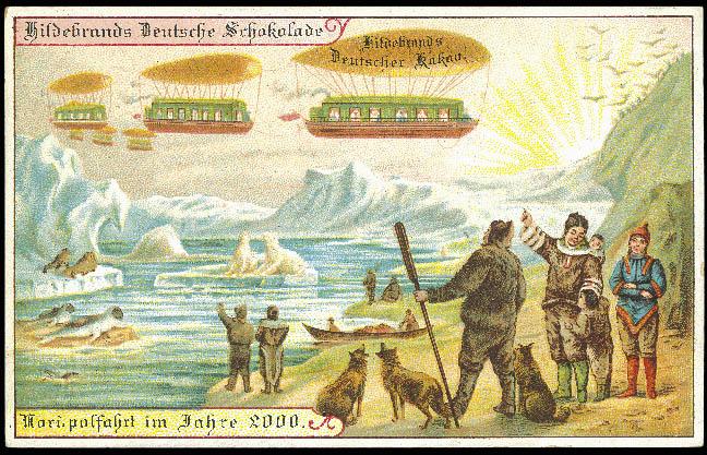 carte postale 2000 futur 11 En 1900, des cartes postales imaginent lan 2000