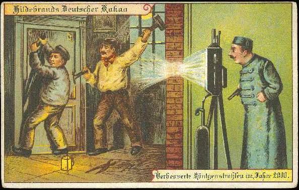 carte postale 2000 futur 12 En 1900, des cartes postales imaginent lan 2000