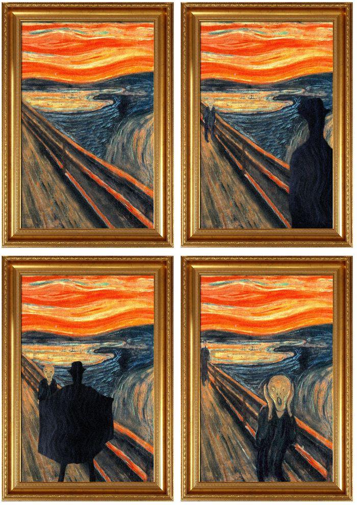 avant apres peinture explique 02 L'avant et l'après de peintures connues