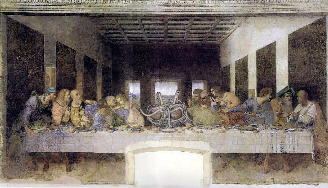 parodie cene scene leonard de vinci 23 34 parodies de la Cène de Léonard De Vinci