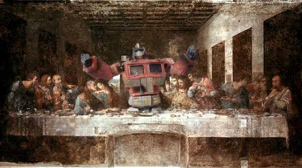 parodie cene scene leonard de vinci 28 34 parodies de la Cène de Léonard De Vinci