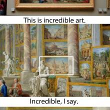 Les détails d'un tableau