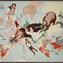 Des cartes satiriques à travers l'histoire